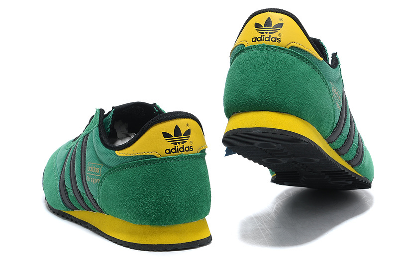basket adidas verte et jaune