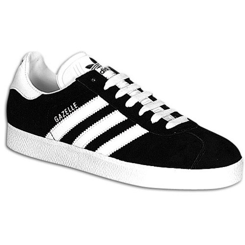 gazelle femme adidas noir et blanc
