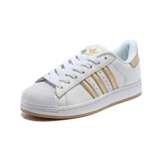 adidas superstar femme or rose
