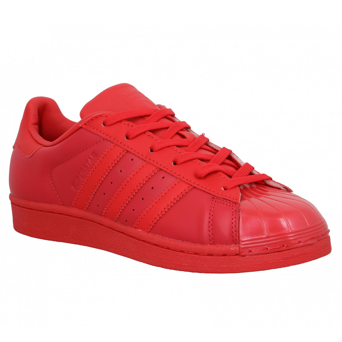 superstar adidas femme rouge