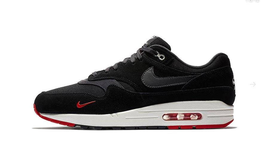 air max 1 rouge et noir
