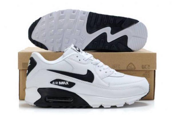 san francisco a0ed6 ba70c Chaussures Nike Air Max 90 Blanc Noir Homme  H-SGvY De gros. Nike Noir  Homme Air Max 90 Hyperfuse Air Max 90 Blanche Air Max Et Chaussure Homme