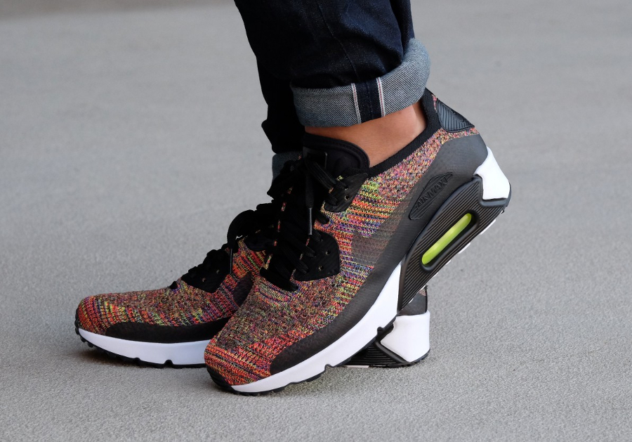 hot sale online ed4f3 b80a4 Air Max 90 Ultra 2.0 Flyknit Gris. by Fmeaddons. Previous  Next Confortable Nike  Air Max 90 Ultra 2.0 Flyknit - Homme Chaussures (o 7WWPW8