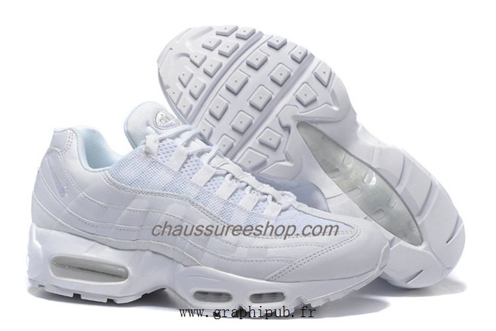 pretty nice 0f296 b3315 Homme Blanc Nike Air Max 95 Essential BASKET Chaussure Nike Air Max 95  Essential pour Homme air max 95 essential femme blanche