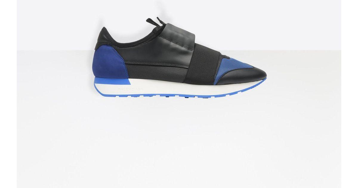 nouveau style 16aaf 1c0cb balenciaga noir et bleu