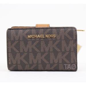 416d8d4da88 Michael Michael Kors Sac pochette en cuir à soufflets Noir Femme Sacs